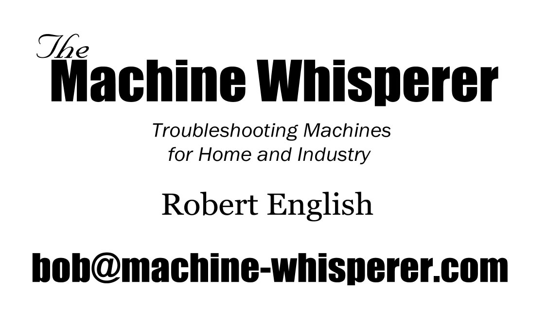 The Machine Whisperer, serving Central Oregon, is ready to help.